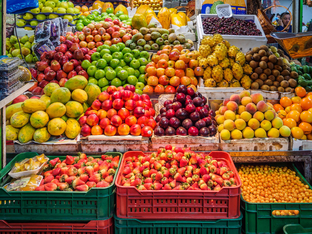 frutas en San Facon, Bogotá, Colombia