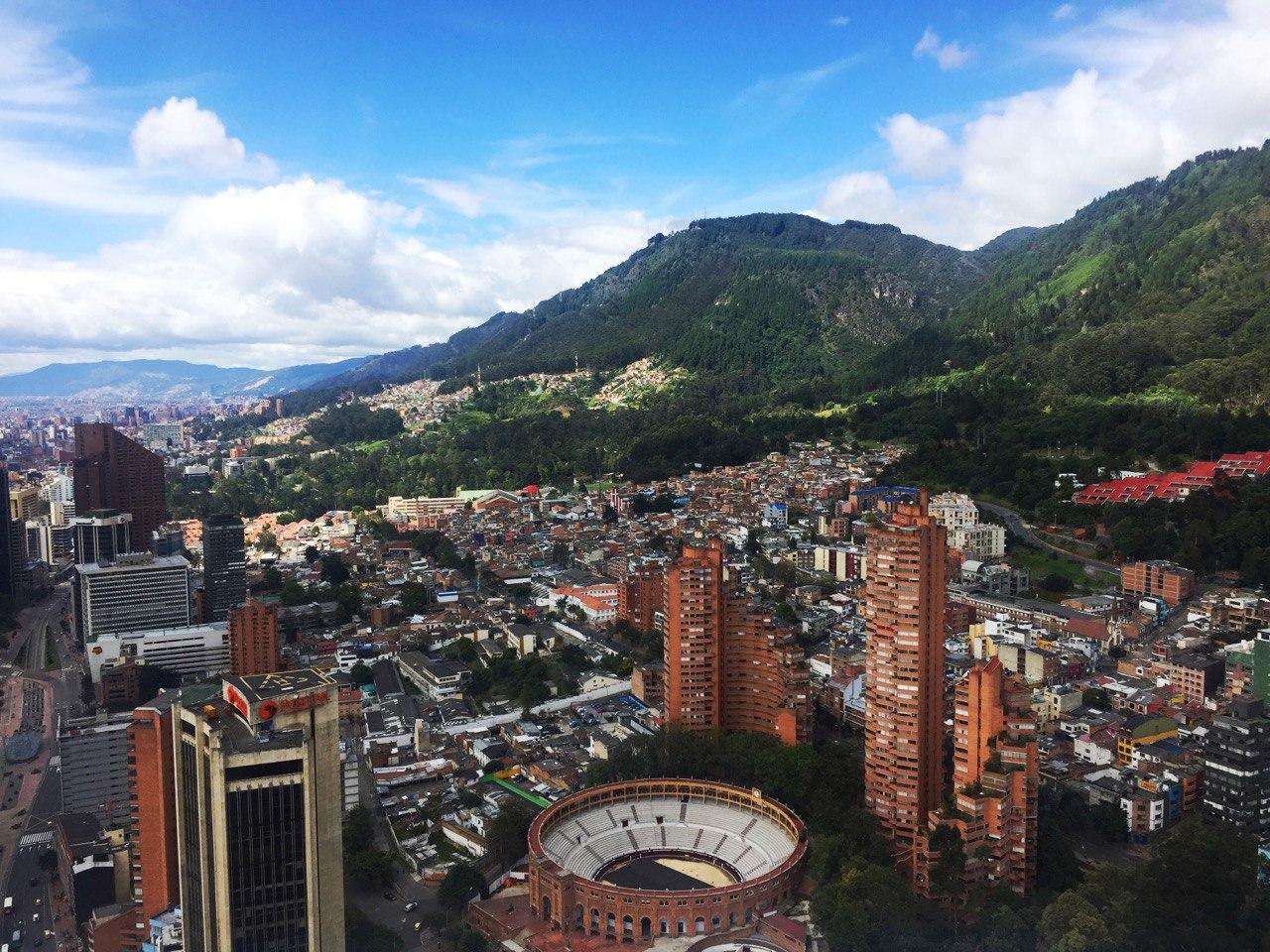 qué hacer en Bogotá: Vista de la ciudad desde la Torre Colpatria