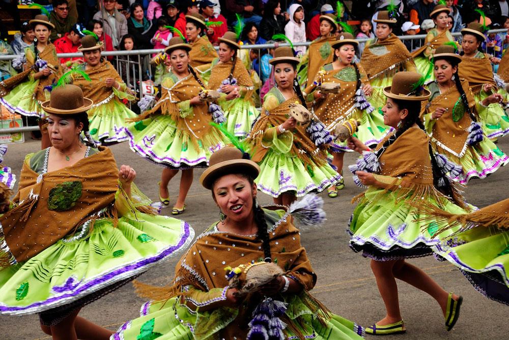 Carnaval de Oruro, sitios turísticos de Bolivia